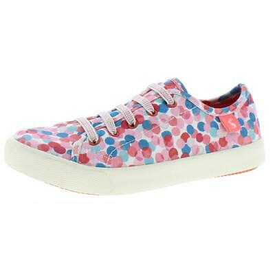 Joules Junior Play Ankle-High Canvas Fashion Sneaker