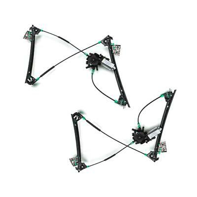 Pair of Window Regulator With Motor Front Left Right for Chevy Corvette 97-05