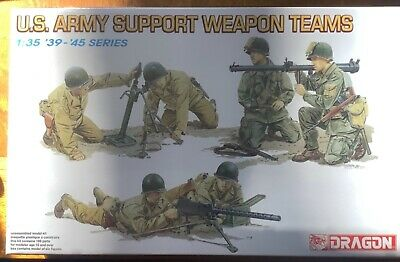 DRAGON 6198 1//35 U.S Army Support Weapon Teams