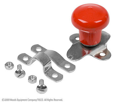 Red Steering Wheel Spinner Knob for IH International Farmall Tractors