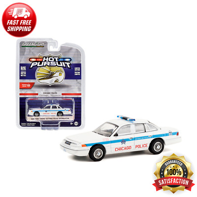 Greenlight 1//64 Ford Police Vehicles Demo Show Car 1993 Ford Crown Vic 42900C