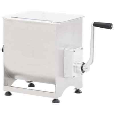 Stainless Steel Meat Mixer w/ Gear Box Silver Meat Blender Sausage Mixer Machine