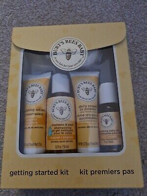 New Burt's Bees - Baby Bee Getting Started Kit