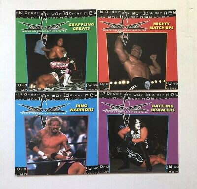 1 WWE WWF WCW ECW NXT NWO Unreleased Wrestling Action Figure Coloring Book Vol