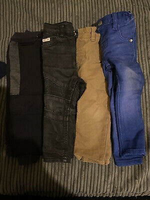 9-12 Months BundleBaby Boy Toddler Jeans Trousers Bottoms From Next River Island