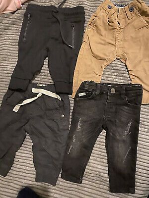 3-6 Months BundleBaby Boy Toddler Jeans Trousers Bottoms From Next River Island