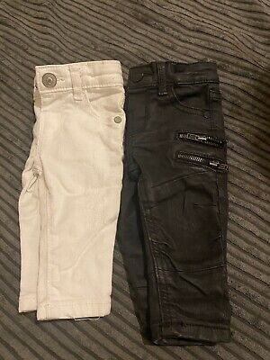 0-3 Months BundleBaby Boy Toddler Jeans Trousers Bottoms From Next River Island