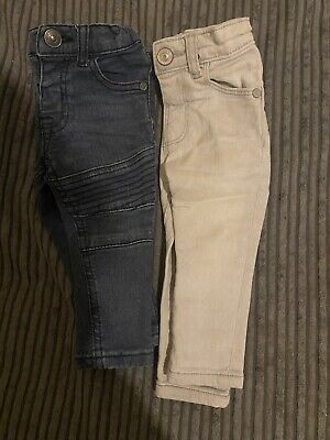 6-9 Months BundleBaby Boy Toddler Jeans Trousers Bottoms From Next River Island