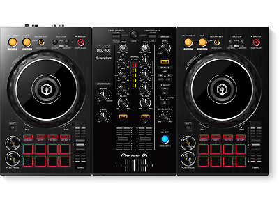 Pioneer DJ DDJ-400 2-Channel DJ Controller for Rekordbox DJ – Black