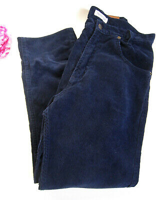 Burberry designer boys cord jeans in dark blue.Age 13-15 years old.100% auth.