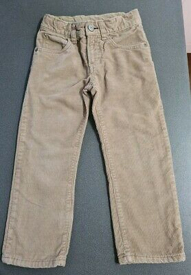 GAP grey jersey lined stone cords with adjustable waist. Age 4. Great condition