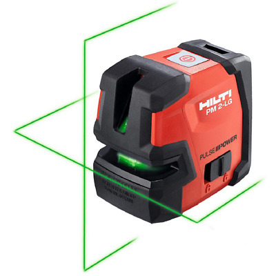 66 ft. PM 2-LG Green Beam Line Laser Level with (2) AA Batteries