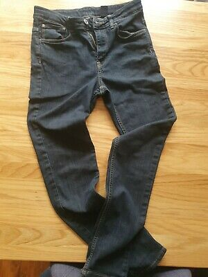 Skinny Fit Boys Jeans Age 12-13 Years Blue/black