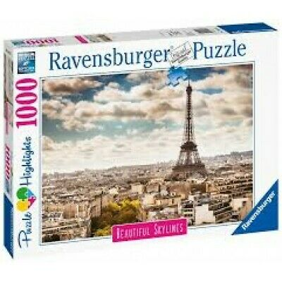 Ravensburger Puzzle 1000 Pz, Beautiful Skylines, Parigi 140879