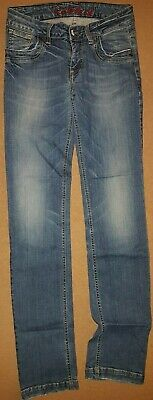TIMBERLAND Boys Blue Straight Jeans Size 25 LONG