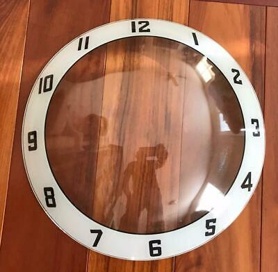 NEW Double Bubble Advertising Clock Outer Replacement Glass