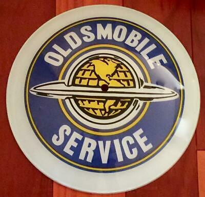 NEW Oldsmobile Advertising Double Bubble Clock Replacement Lens