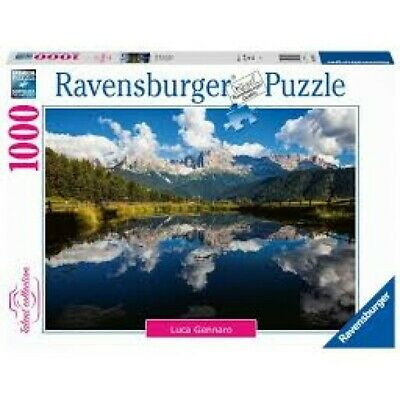 Ravensburger Puzzle 1000 Pz, Talent Collection, Vita In Montagna 161973
