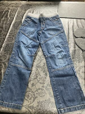 Boys Jeans Elasticated Waist George Age 8-9