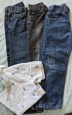 Boys Jeans And Shirt Bundle Age 7-8 Years