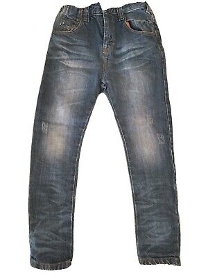 Next Boys Jeans Age 6 Blue Excellent Condition