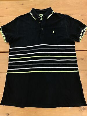 Blue Zoo By Debenhams Boys Polo Shirt Age 13-14 Years In Black