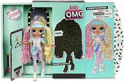 LOL Surprise OMG Series 2 Candylicious Fashion Doll Set 20 Surprises 2020 Play