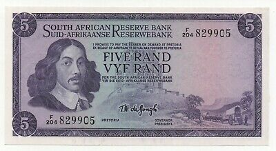 South Africa 5 Rand 1975 Pick 111 C Unc