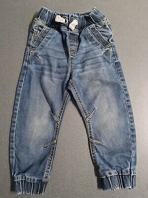Mini Club cuffed jogger jeans. Age 2-3 years. Barely worn.