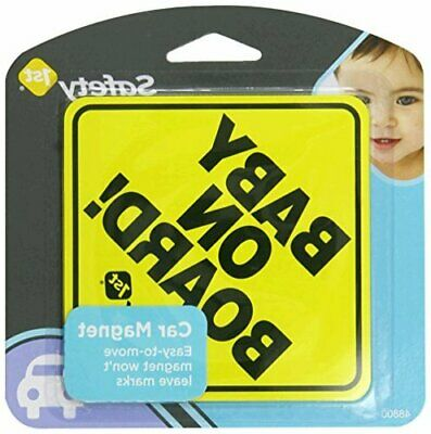 Safety 1st Baby On Board Sign Magnet, Yellow, Size No Size OAGJ