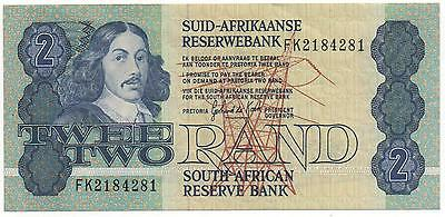 South Africa 2 Rand 1978 - 1990 Pick 118 Look Scans