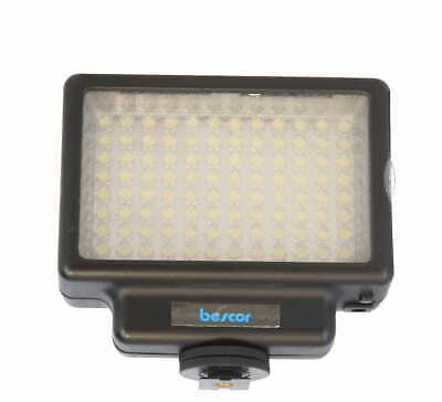 Bescor LED-70 Dimmable 70W 96 Bulb Video Light, with Frosted Filter - EX