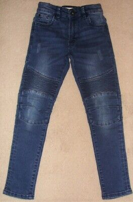 Matalan Dark Blue Skinny Jeans Size Age 7 Years