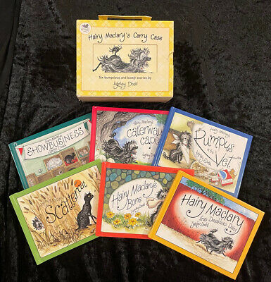 Hairy MacLary's Carry Case Set (Six Bumptious And Bustly Stories By Lynley Dodd)