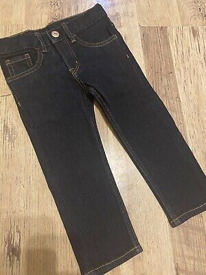 Boys Dark Blue skinny Jeans. Aged 2/3yrs. Brand New