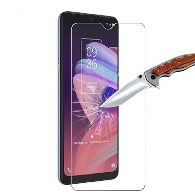 9H Anti-Shatter Tempered Glass Screen Protector Guard Film For  TCL 10 SE