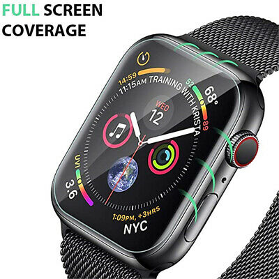 2/3PCS For Apple Watch 6 5 4 3 2 SE Full Screen Protector iWatch 38/42 40/44mm