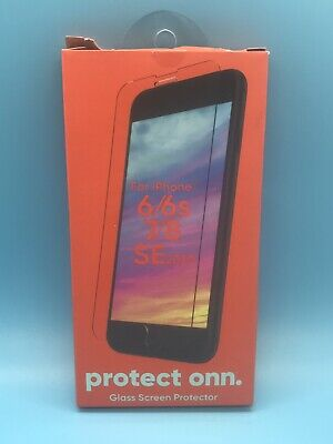 Protect Onn. iPhone Glass Screen Protector Fits 6/6s/7/8,SE (2020) Brand NEW!