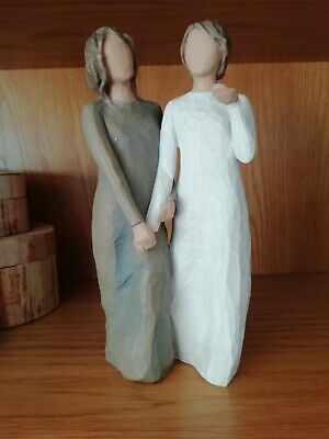 Willow Tree Ornament Figurine, My Sister, My Friend, resin