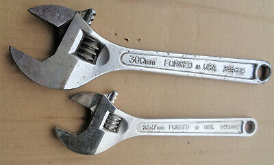 """2 Craftsman == adjustable wrenches 4405 12"""" & 44604 10"""""""