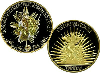 Holy Trinity Gigantic Commemorative Coin Proof Value $199.95