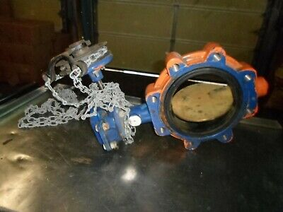 """Grinnell Lc-8282-7-Da Size 6"""" Max Wp 250 Series 8000 Butterfly Valve"""