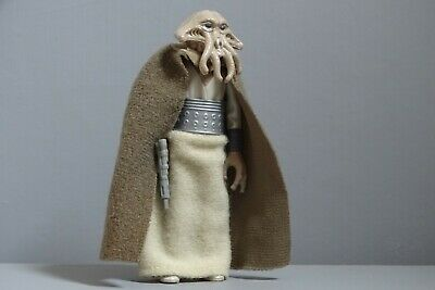Comme neuf * Vintage Star Wars Squid Head with Green Cape complet Hong Kong