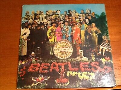 LP the Beatles Sgt peppers lonely hearts club band. 3 June 1963.