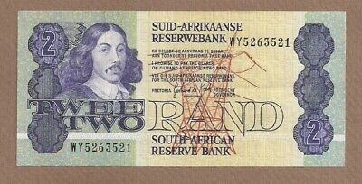 SOUTH AFRICA: 2 Rand Banknote,(AU),P-118d, 1983,No Reserve!