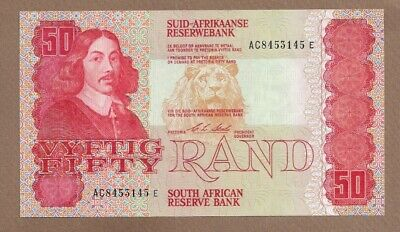 SOUTH AFRICA: 50 Rand Banknote,(UNC),P-122b, 1990,No Reserve!
