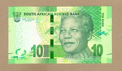 SOUTH AFRICA: 10 Rand Banknote,(UNC), P-133, 2012, No Reserve!