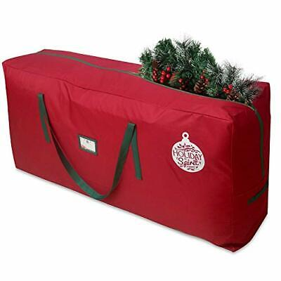 Christmas Tree Storage Bag For Trees. Heavy-Duty 600D Oxford Material With Dura