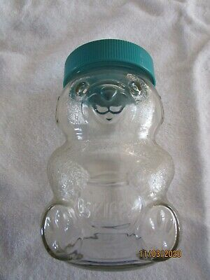 Vintage Skippy Bear jar bank, good condition.