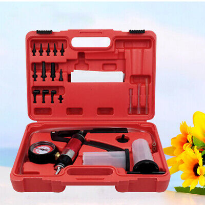 1Pc Premium Handheld Nylon Pump Brake Bleeder Kit Steam Protection Tool